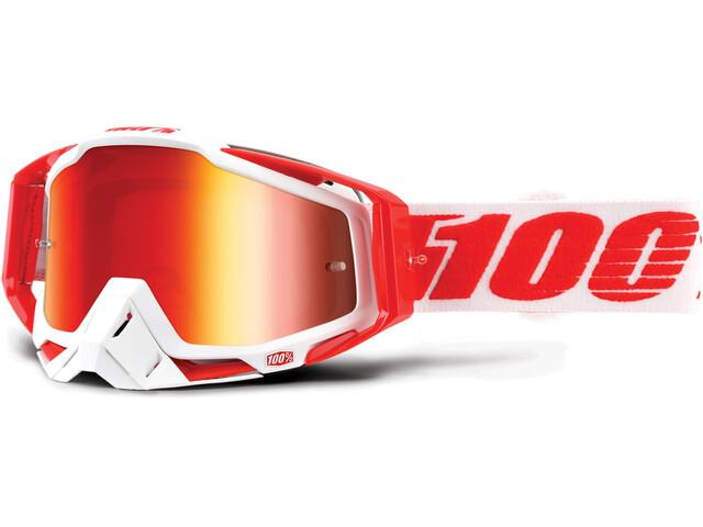 100% Racecraft Goggles rød